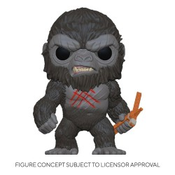 Godzilla Vs Kong Figurine POP! Movies Vinyl Battle Worn Kong 9 cm