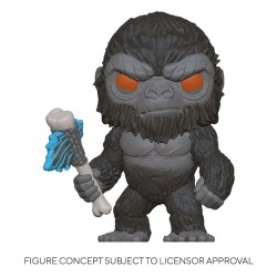 Godzilla Vs Kong Figurine POP! Movies Vinyl King Kong with Axe 9 cm