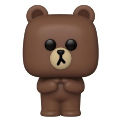 Line Friends Figurine POP! Animation Vinyl Brown 9 cm