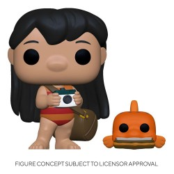 POP! & Buddy Vinyl figurine Lilo w/Pudge 9 cm