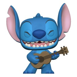 Lilo & Stitch POP! Disney Vinyl figurine Stitch w/Ukelele 9 cm