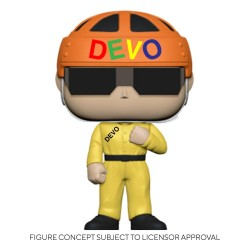 Devo POP! Rocks Vinyl Figurine Satisfaction (Yellow Suit) 9 cm