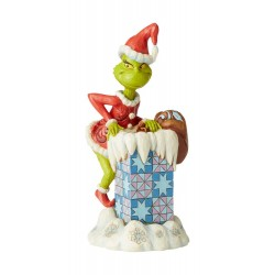 Le Grinch statuette Grinch Climbing in the Chimney by Jim Shore 23 cm