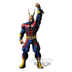 My Hero Academia statuette Colosseum Modeling Academy Super Master Stars Piece All Might Two Dim.