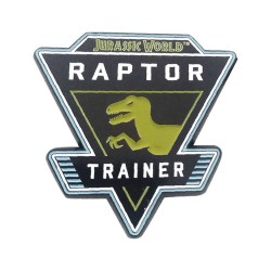 Jurassic World pin's Raptor
