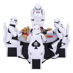 Star Wars diorama Stormtrooper Poker Face 18 cm