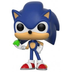 Sonic The Hedgehog POP! Games Vinyl figurine Sonic (Emerald) 9 cm