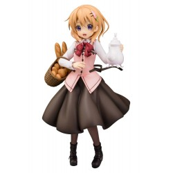 Is the Order a Rabbit statuette PVC 1/7 Cocoa (Cafe Style) 23 cm