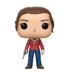Stranger Things POP! TV Vinyl Figurine Nancy (with Gun) 9 cm