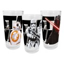Star Wars VII packs 3 verres Episode VII