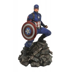 Avengers : Endgame Marvel Movie Premier Collection statuette Captain America 30 cm