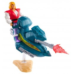 Masters of the Universe Origins 2020 figurine Prince Adam with Sky Sled 14 cm