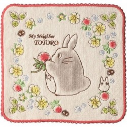 Mon voisin Totoro serviette de toilette mains Wild Strawberries 25 x 25 cm