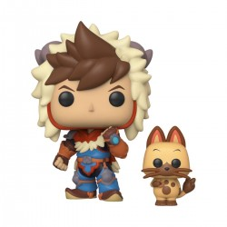 Monster Hunter Pop & Buddy! Animation Vinyl figurine Lute & Navirou 9 cm