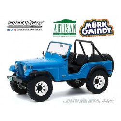 Mork and Mindy 1972 Jeep CJ-5 1/18 métal
