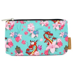 Disney by Loungefly sac cosmétique Mulan Mushu & Crickie
