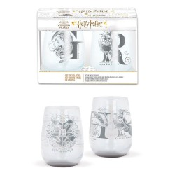 Harry Potter pack 2 verres Crystal