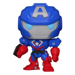 Marvel Mech Figurine POP! Vinyl Captain America 9 cm