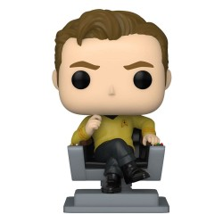 Star Trek: The Original Series POP! TV Vinyl Figurine Cap Kirk in Chair 9 cm