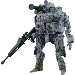 OBSOLETE figurine Plastic Model Kit Moderoid 1/35 Military Armed EXOFRAME 9 cm