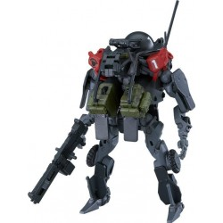 OBSOLETE figurine Plastic Model Kit Moderoid 1/35 PMC Cerberus Security Services EXOFRAME 9 cm