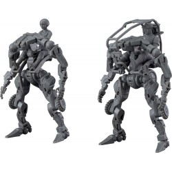 OBSOLETE figurine Plastic Model Kit Moderoid 1/35 Multi-Purpose EXOFRAME (Gray) 9 cm