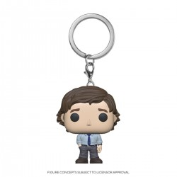 The Office US porte-clés Pocket POP! Vinyl Jim Halpert 4 cm
