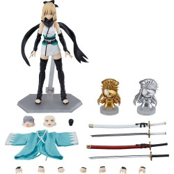 Fate/Grand Order figurine Figma Saber/Okita Souji Ascension Version 14 cm