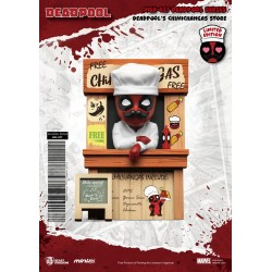 Marvel figurine Mini Egg Attack Deadpool's Chimichangas Store 10 cm