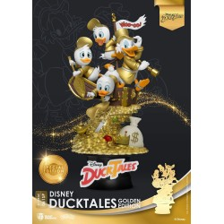 Disney Classic Animation Series diorama D-Stage DuckTales Golden Edition heo EMEA Exclusive 15 cm