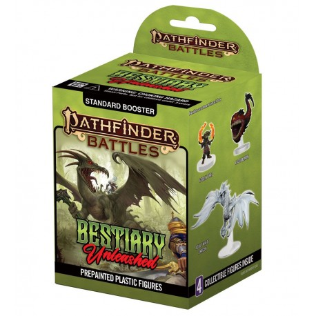 Pathfinder Battles : Bestiary Unleashed Booster Brick