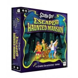 Scooby-Doo jeu de plateau Escape from the Haunted Mansion - A Coded Chronicles™ Game *ANGLAIS*