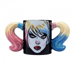 DC Comics mug Shaped Harley Quinn