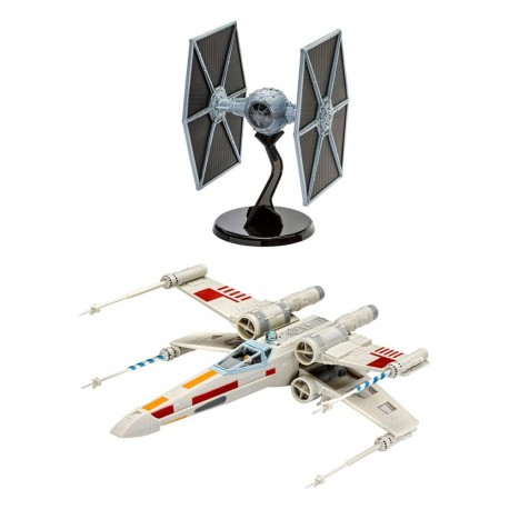 Star Wars kit complet maquette 1/57 X-Wing Fighter & 1/65 TIE Fighter