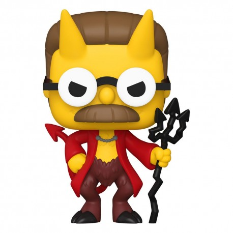 Simpsons Figurine POP! Animation Vinyl Devil Flanders 9 cm