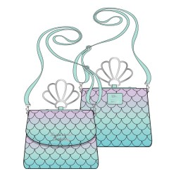 Disney by Loungefly sac à bandoulière Little Mermaid Ombre Scales Shell