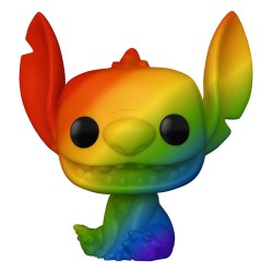 Lilo & Stitch POP! Pride Vinyl figurine Stitch (RNBW) 9 cm