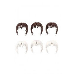 Sousai Shojo Teien accessoires 1/10 After School Short Wigs Type A White & Chocolate Brown