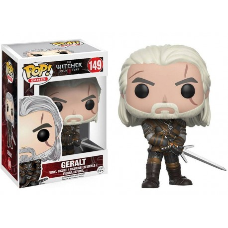 The Witcher Figurine POP! Games Vinyl Geralt 9 cm
